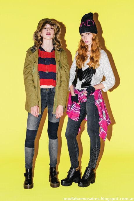 Moda Argentina: Muaa invierno 2015. Moda juvenil invierno 2015.
