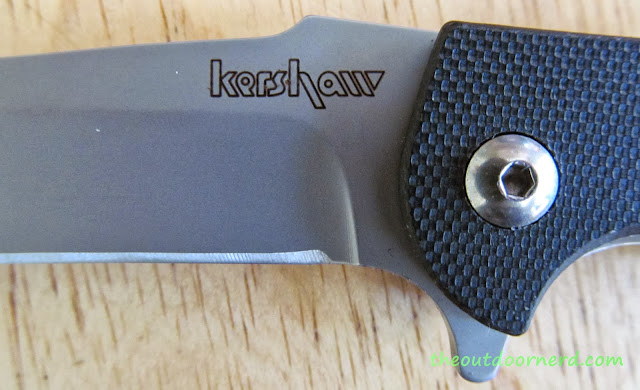 "Kershaw Chill ""Gentleman's Folder"" Pocket Knife - Kershaw Logo"