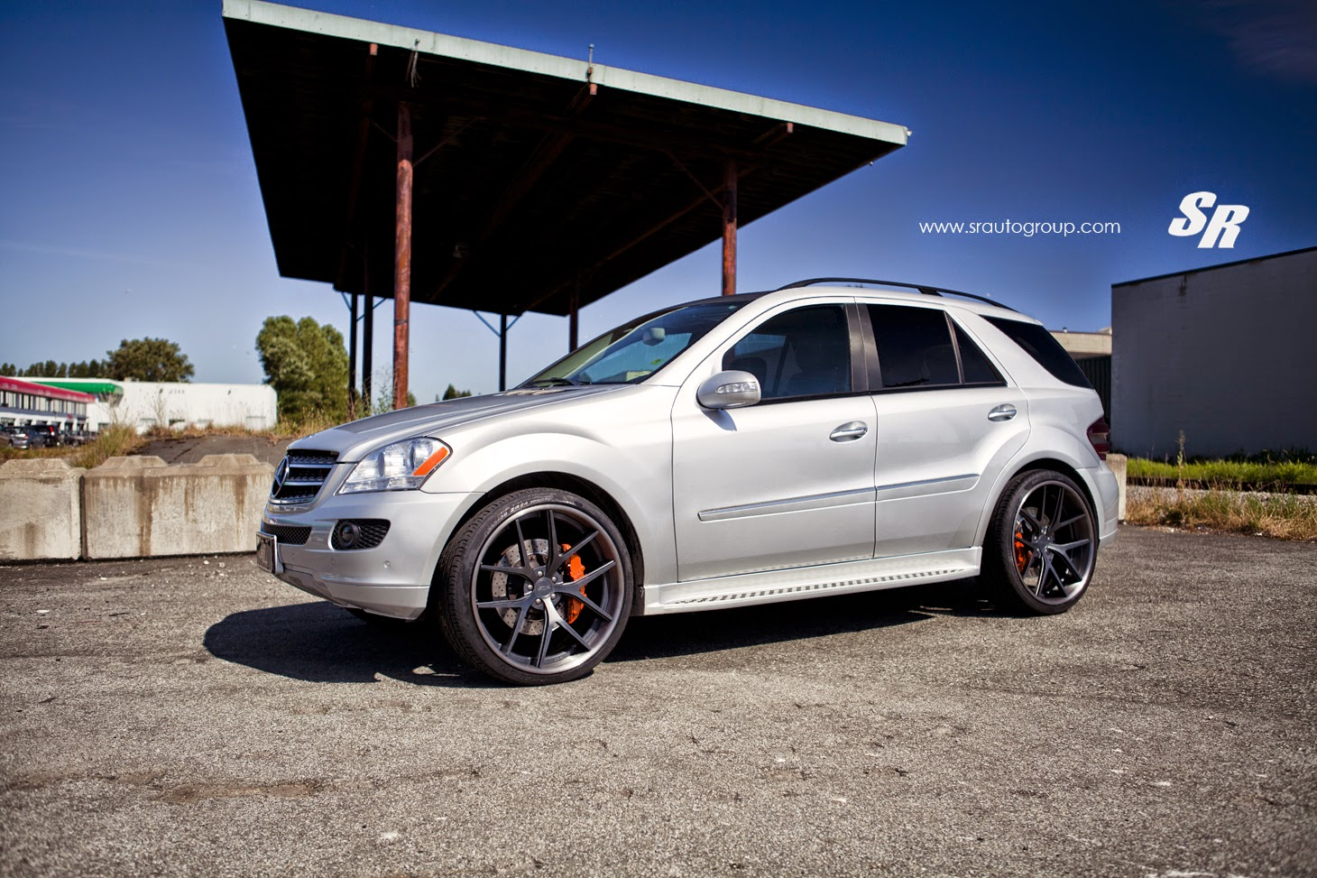 Mercedes Benz mercedes benz ml320 : Mercedes-Benz W164 ML320 on PUR Wheels | BENZTUNING
