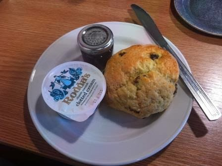 Scones at Souter Lighthouse