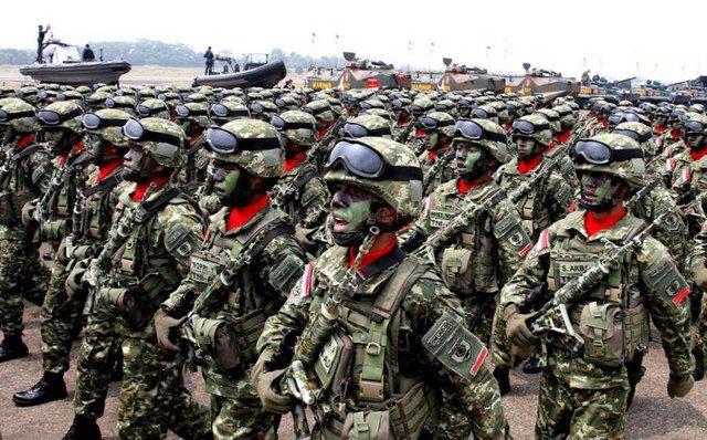 Kekuatan TNI Masih Bertumpu di Pulau Jawa
