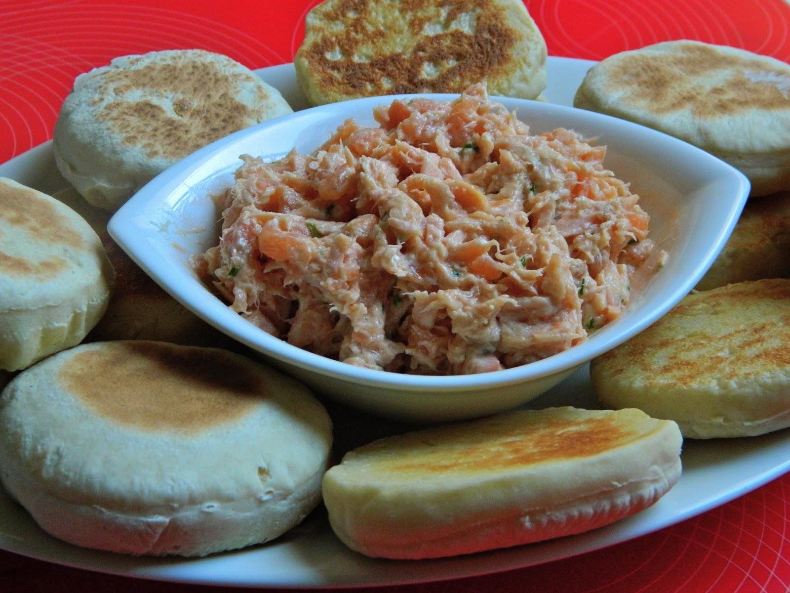 Le petit coin de cuisine de yasmine rillettes aux deux saumons - Petit coin cuisine ...