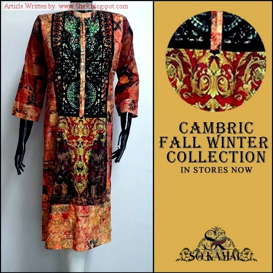 So Kamal Cambric Dress Collection