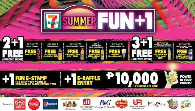 7-Eleven Summer Fun, 711 Philippines promo, Philippines promotion, contest