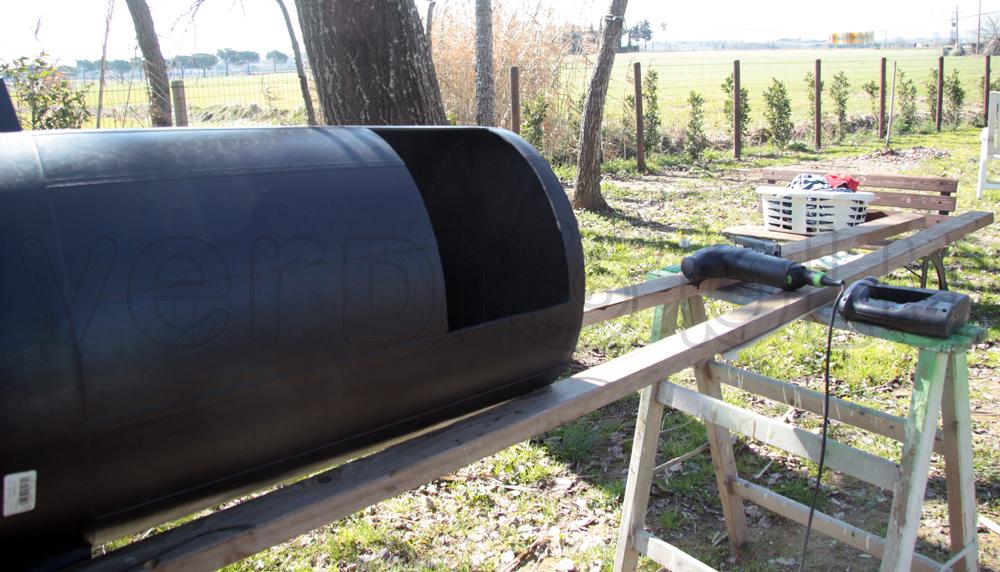 verDi&bLu: * la nostra compostiera da giardino, home made.