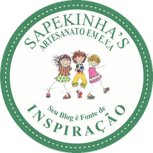 Esse ganhei da querida Maria Sônia do blog - Sapekinhas.