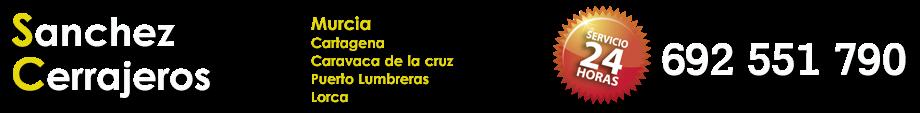 CERRAJEROS MURCIA Y PROVINCIA - 692 551 790 · 24 HORAS