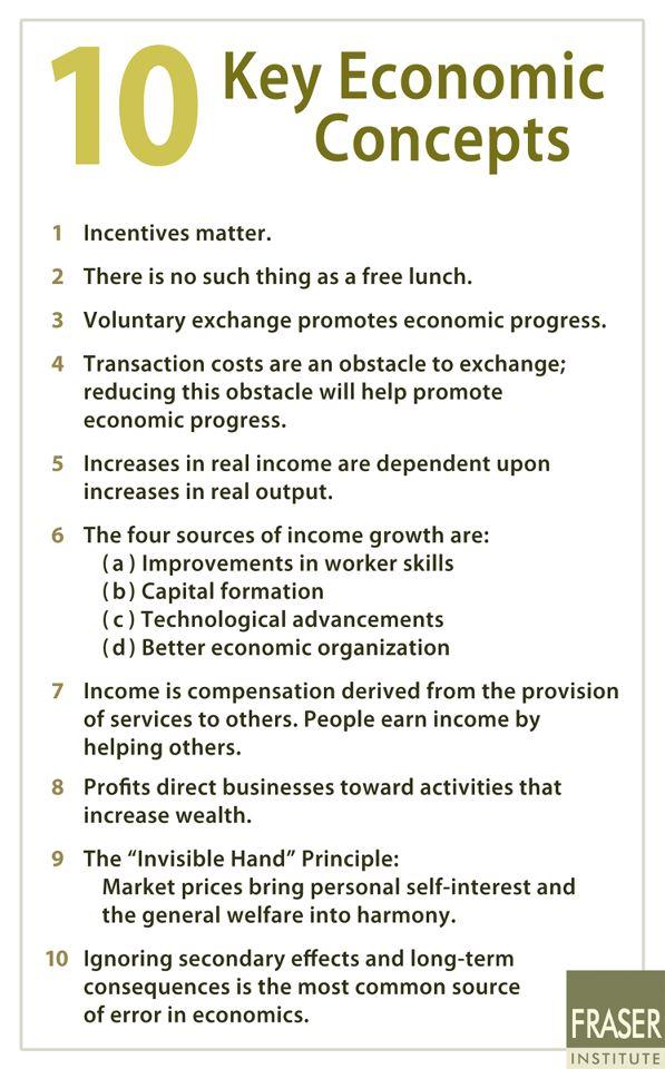 10 principios de economia: