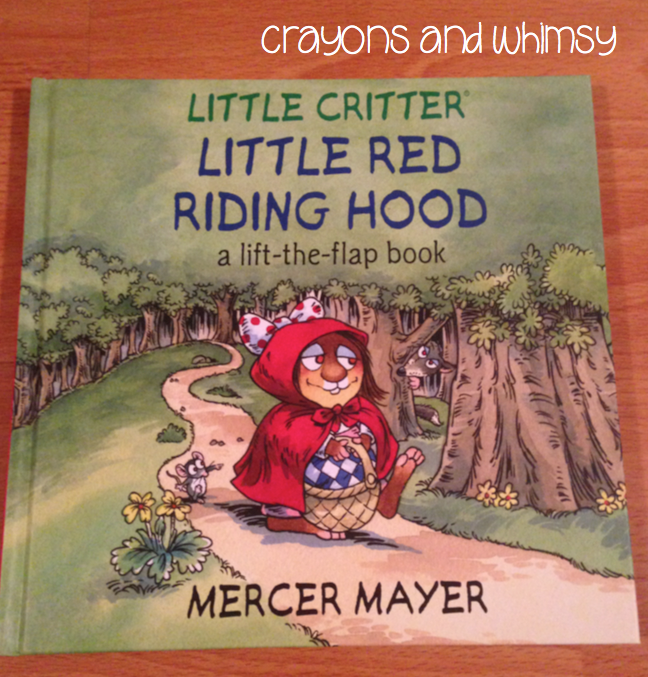 Little Red Riding Hood Kohl's Crayons and Whimsy