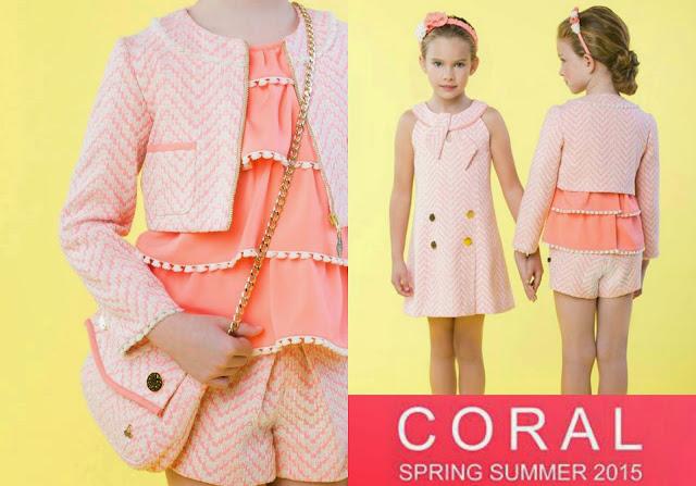 Color coral - Sanmar moda infantil