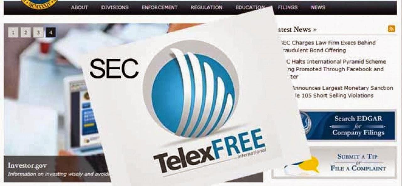 Suposta investigação contra TelexFREE