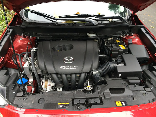 Mazda CX-3 SKYACTIV engine