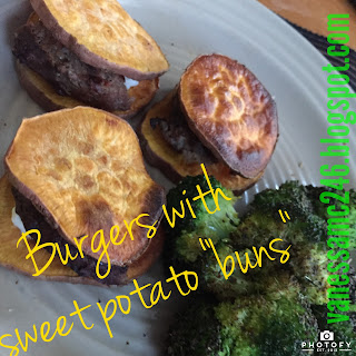 sweet potato hamburger bun, clean eating, paleo, gluten free, healthy burgers, 21 Day Fix, beach body coach, vanessa mclaughlin, vanessamc246