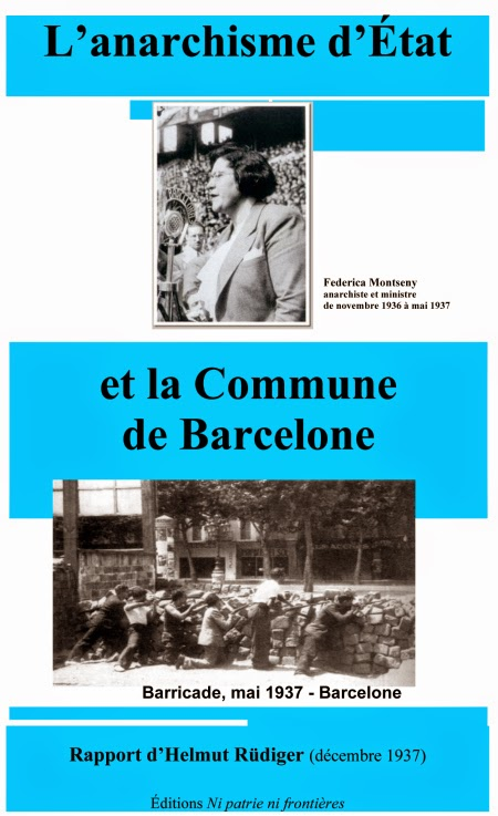 Libre sobre l'anarquisme d'Estat. D'Agustí Guillamón.