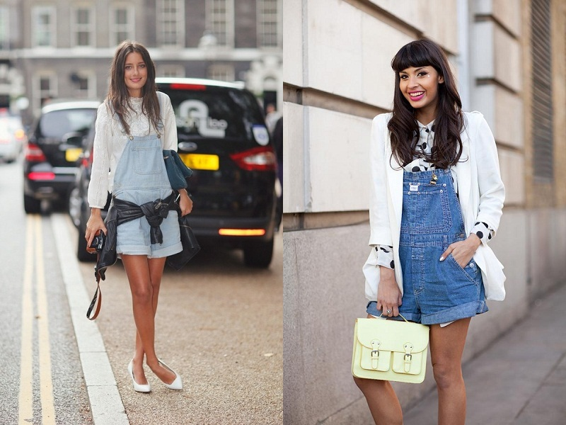 Dungarees, overall, denim, trend, street style
