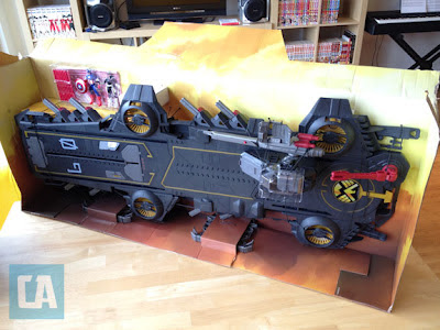 Helicarrier, SHIELD, SDCC, 2012, Hasbro