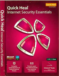 Quick Heal Internet Security Essentials With Key Photos