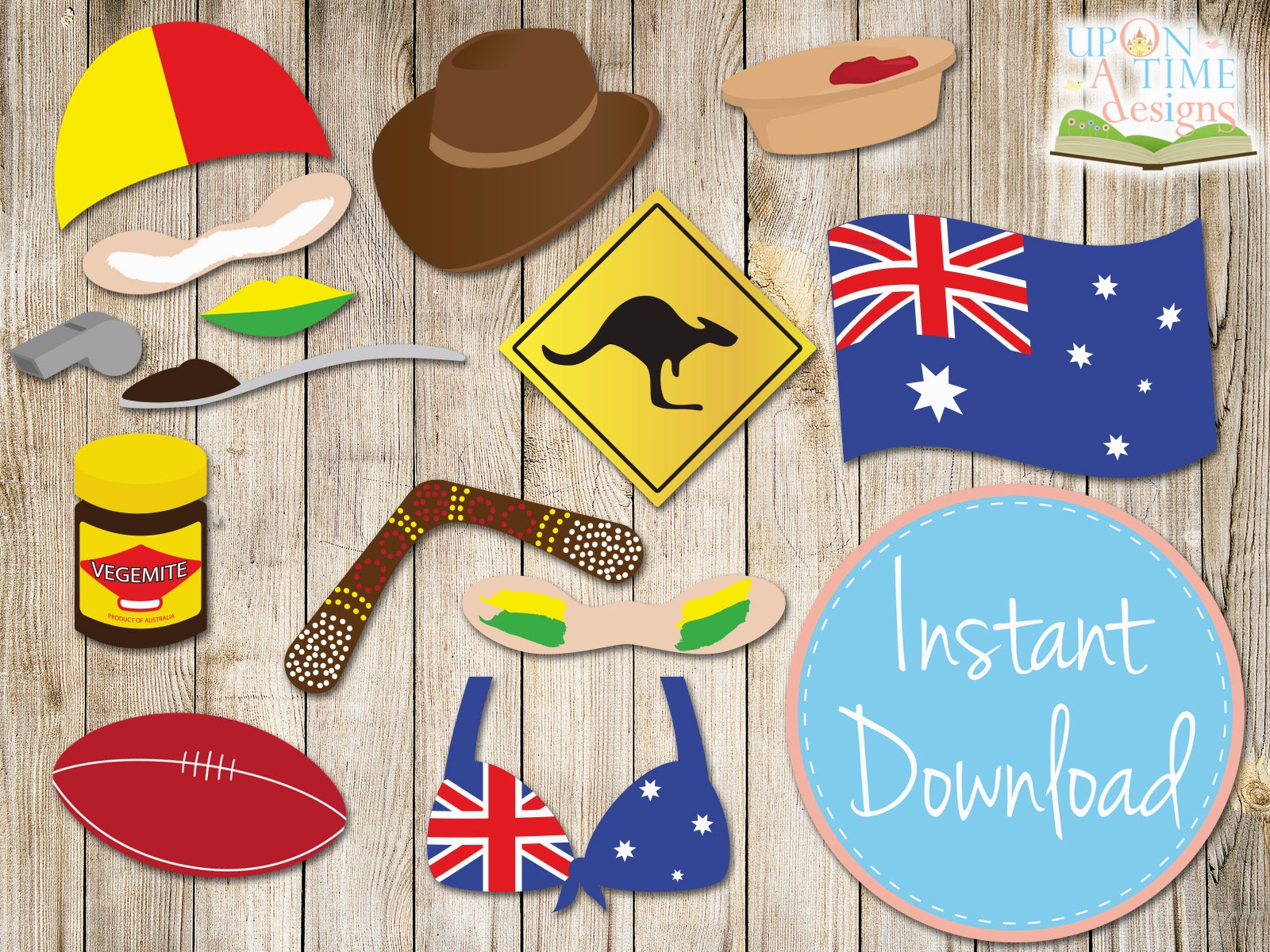 Party fun for little ones australia day celebration ideas for Australian decoration