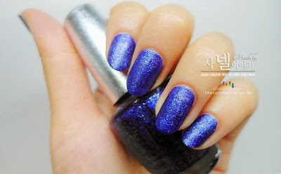 OPI navy nail polish