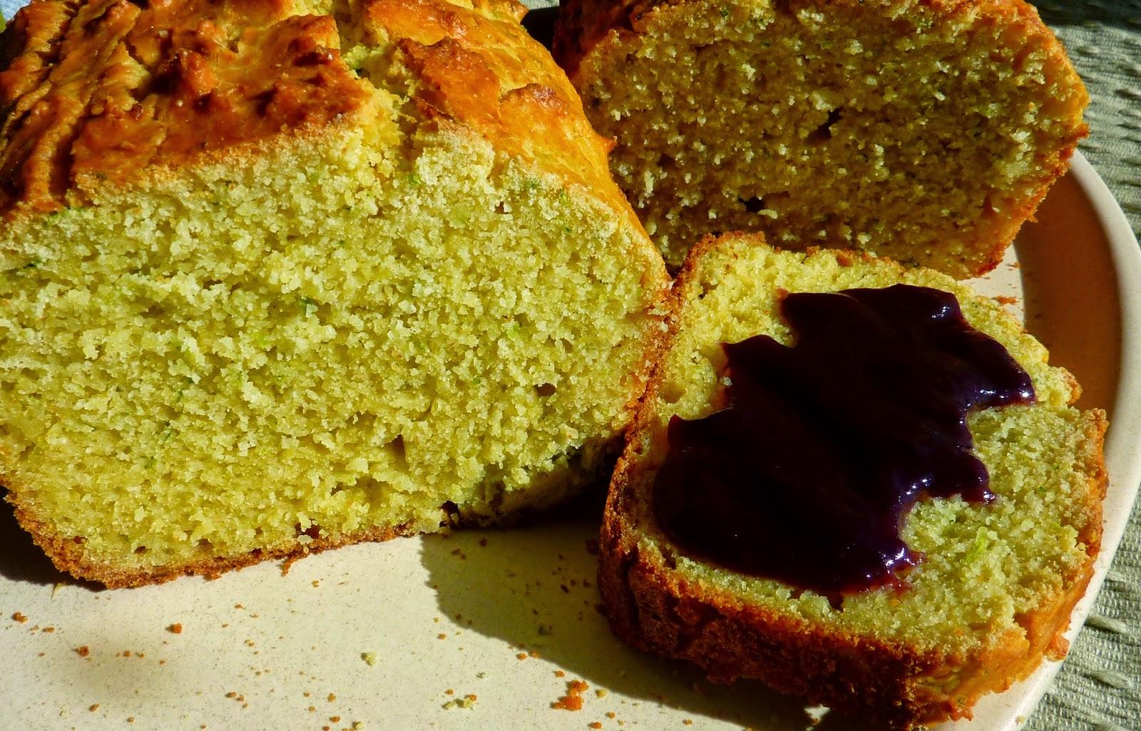 Receta Pan de Calabacín sin gluten