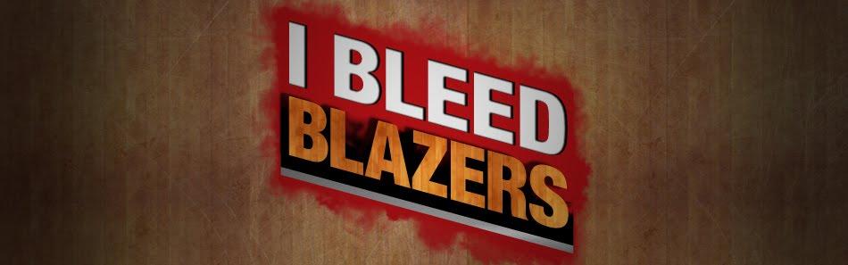 I BLEED BLAZERS