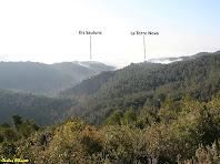 Vistes sobre la Torre Nova i els Saulons des de la pujada al Turó del Casuc. Autor: Carlos Albacete