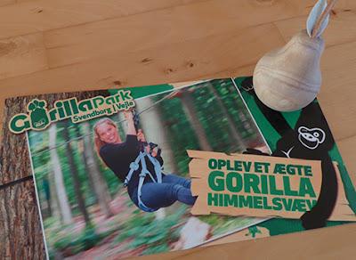 Oplevelse i Gorillaparken i Vejle eller Svendborg