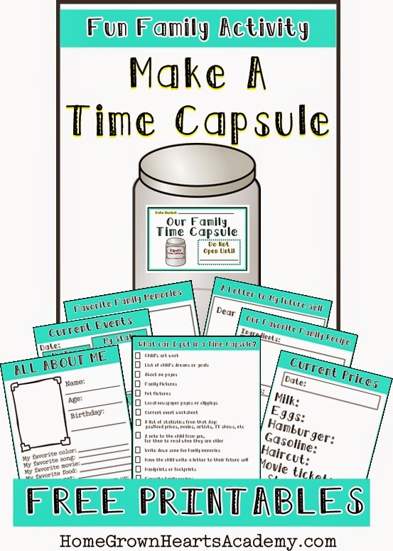Time capsule 2018 ideas for easter – Christmas 2018