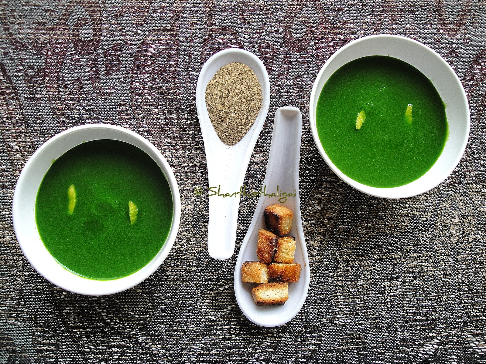 PALAK SOUP,HOW TO MAKE PALAK SOUP