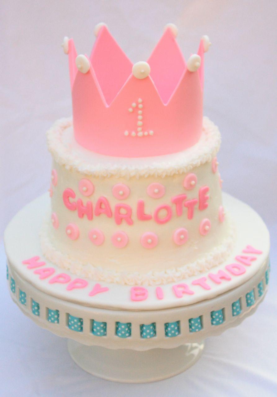 Cakealicious Surprises First Birthday Cake Princess Theme