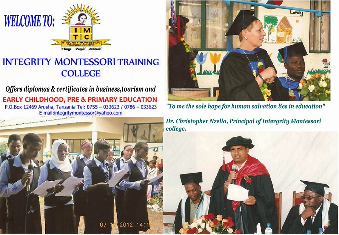 INTEGRITY MONTESSORI TRAINING COLLEGE