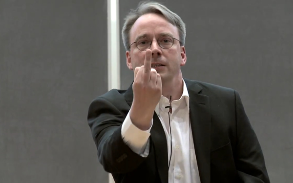 Linus Torvalds Nvidia Fuck You