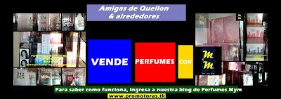 vende perfumes como promotora