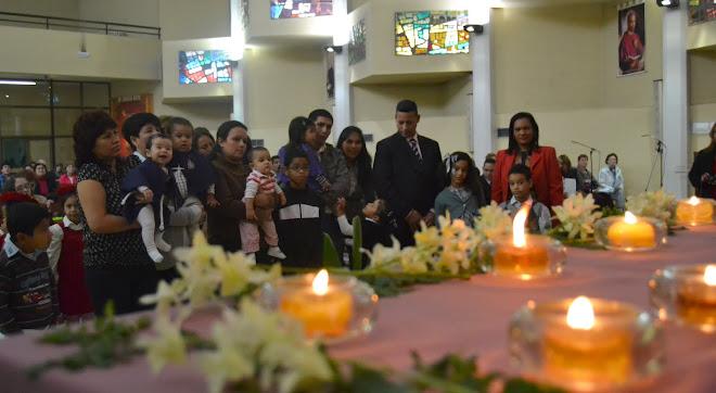 PRESENTACIÓN DE LOS NIÑOS  MISA  2011