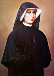 Santa Faustina, rogai por nós
