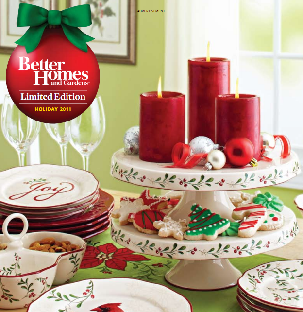 12 Home Decor Gift Ideas From Walmart: My CNY Mommy: Walmart Better Homes & Garden Holiday 2011