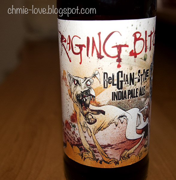 Raging Bitch, belgian style IPA, Flying Dog