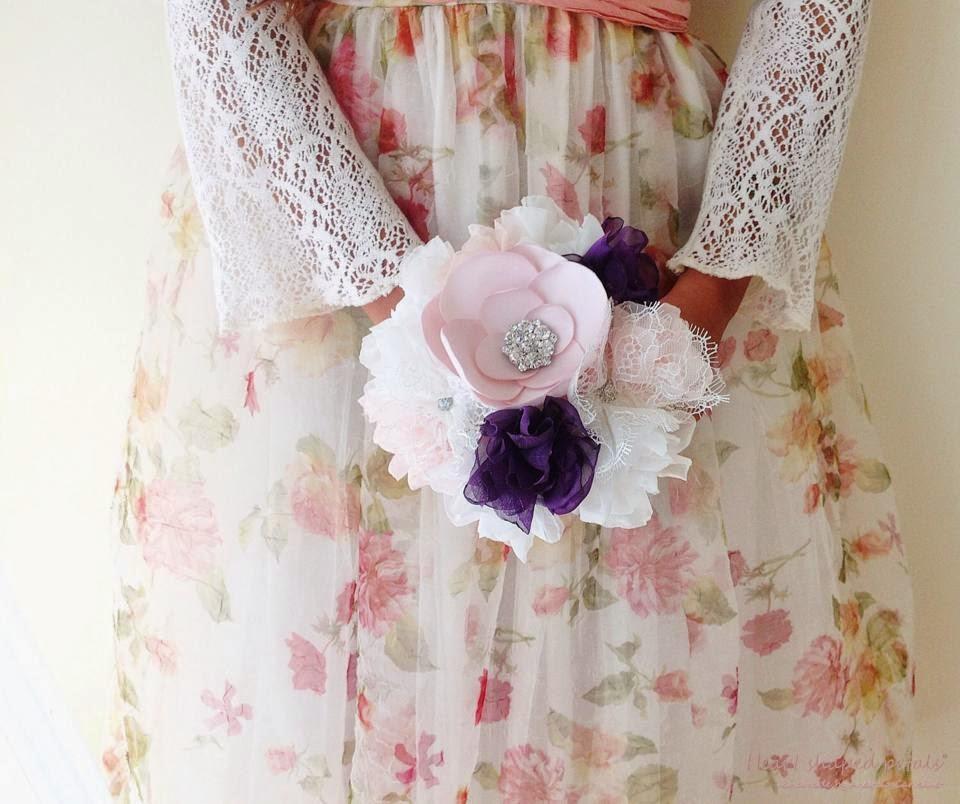 Bouquet em tecido solteiras