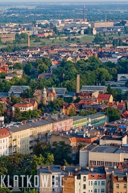 Nad dachami poznańskich kamiec - Łazarz i Wilda