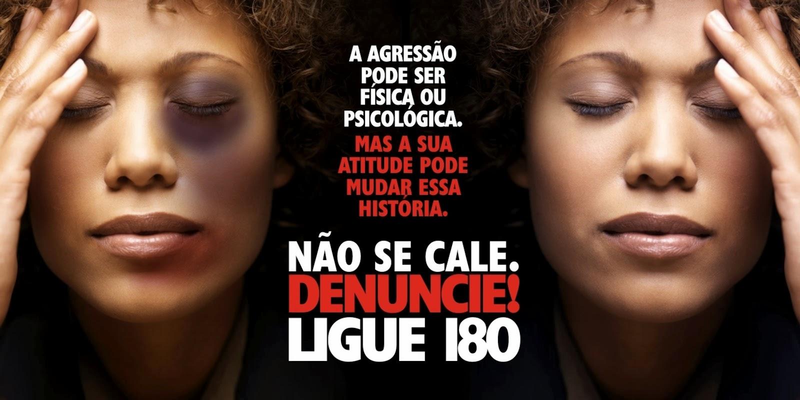 DISFARÇAR NÃO É A SOLUÇÃO - DENUNCIE!!!