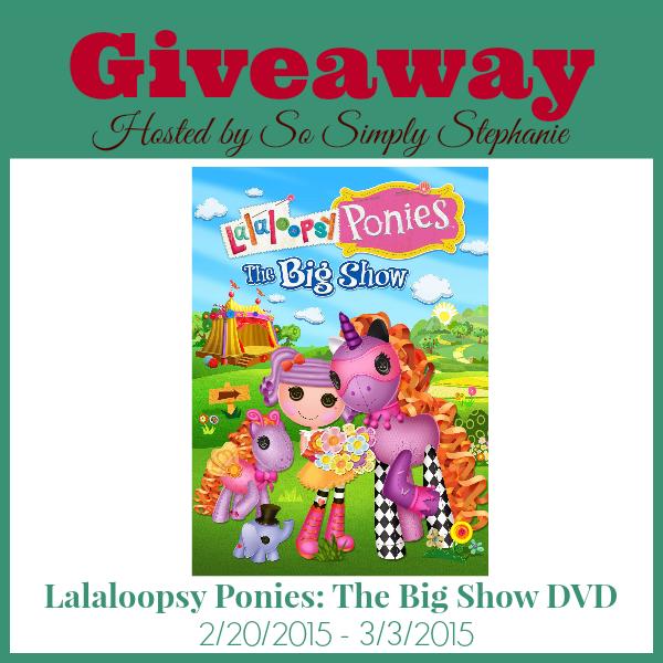 lalaloopsy peonies big show dvd