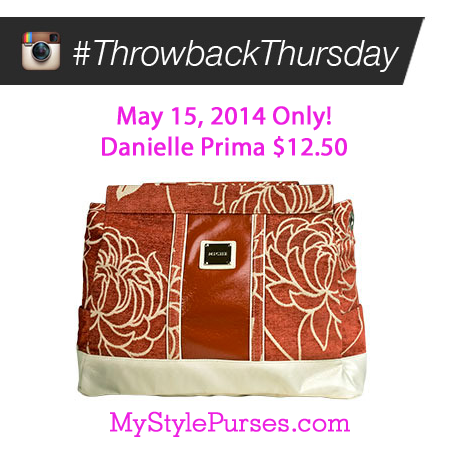 Miche Throwback Thursday May 15, 2014 - Danielle Prima Shell $12.50 | Shop MyStylePurses.com