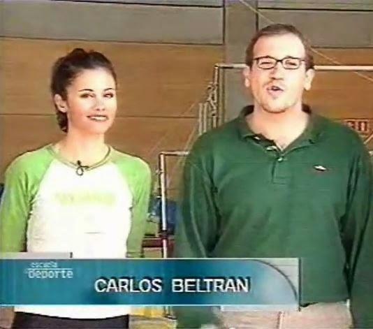 Estela Giménez, presentadora de televisión del espacio 'Escuela del deporte'