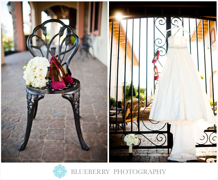 Livermore vineyard winery beautiful wedding photography dress shoes details