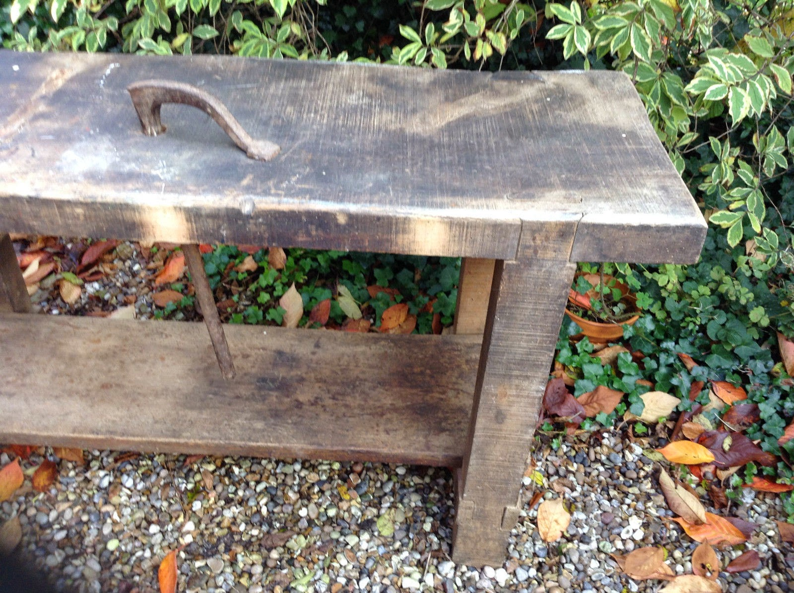 David Barron Furniture: An Original Roubo Style Bench for Sale on E Bay