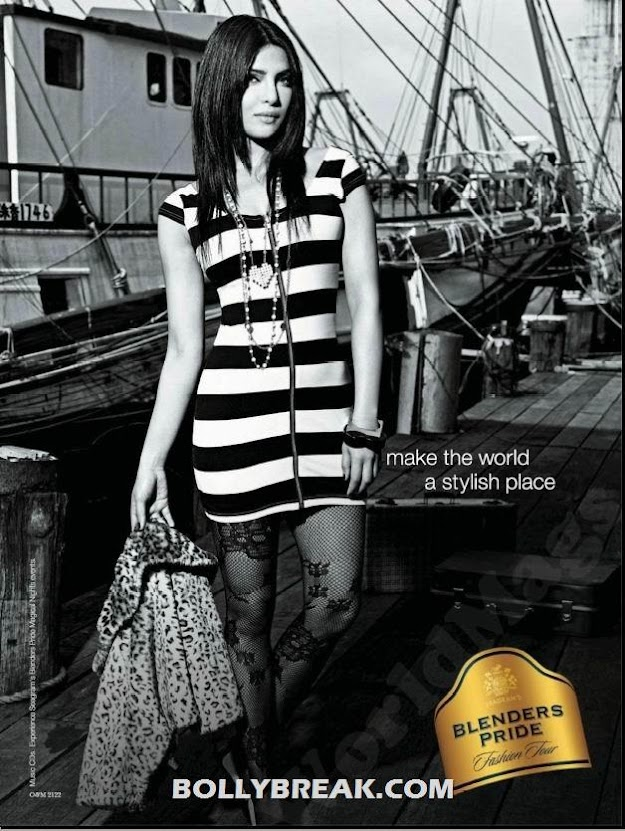 Priyanka chopra blenders pride - Priyanka chopra latest Blenders Pride Ad Photo