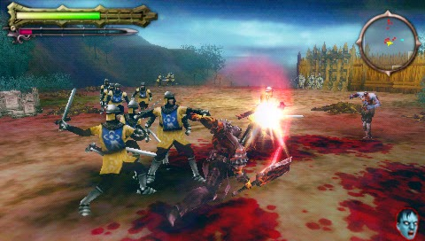 download game Undead Knights Psp psp