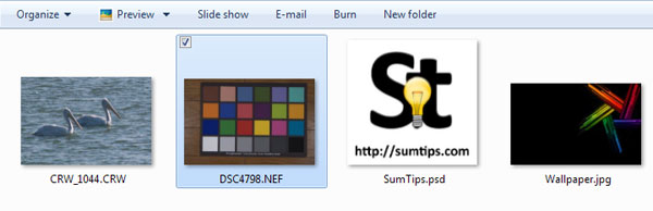 Add Thumbnail Support for 162 Image formats in Explorer with SageThumbs