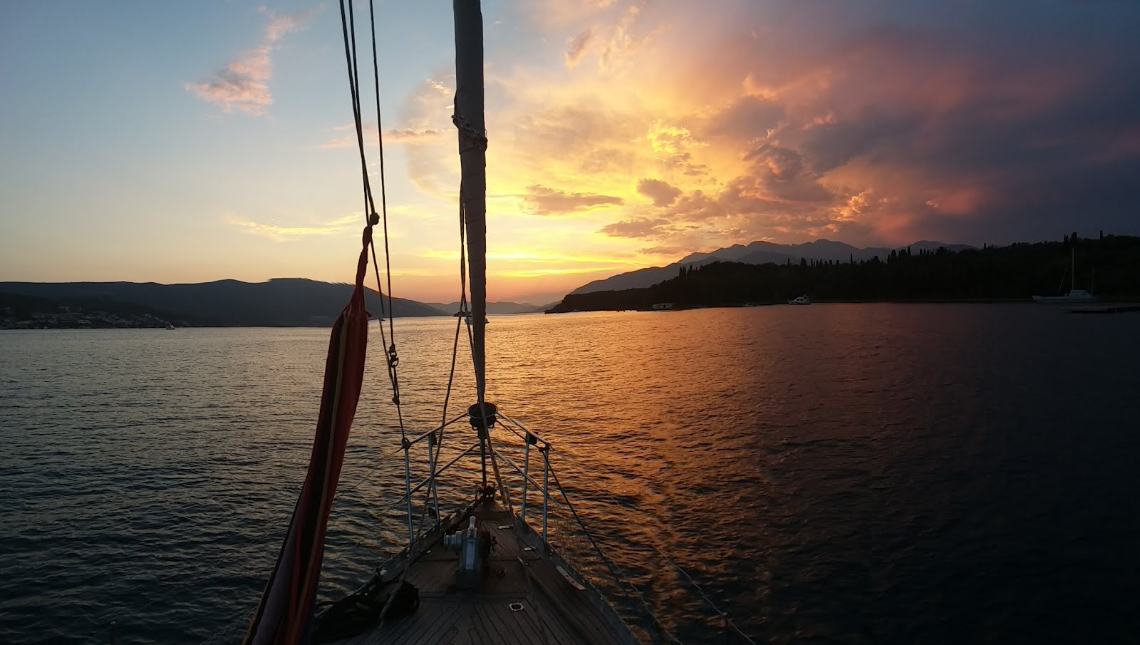 Life on Yacht Monty B