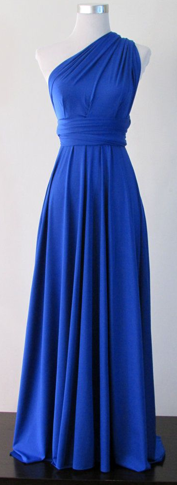 Royal Blue Summer Maxi Dress